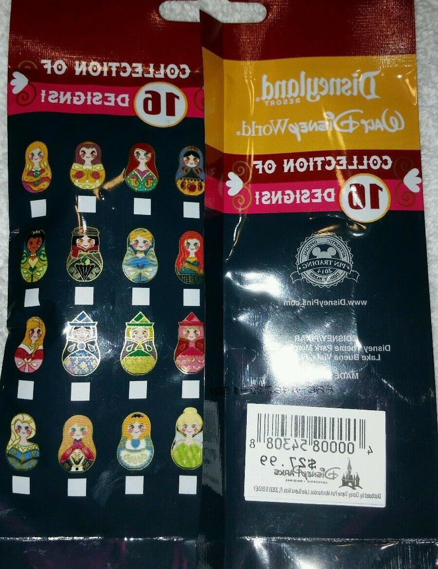Disney Pin NESTING Mystery Pack Random Set of