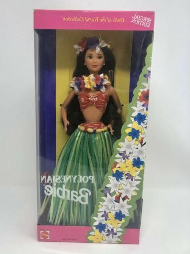 polynesian barbie dolls of the world collection