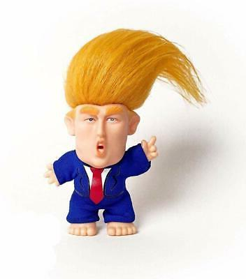 PRESIDENT DONALD TRUMP Funny TROLL DOLL Hair To The Chief, 4