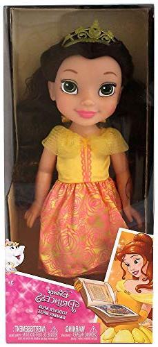 "Disney Princess Toddler Belle Jakks 14"" Beauty and The Beast"