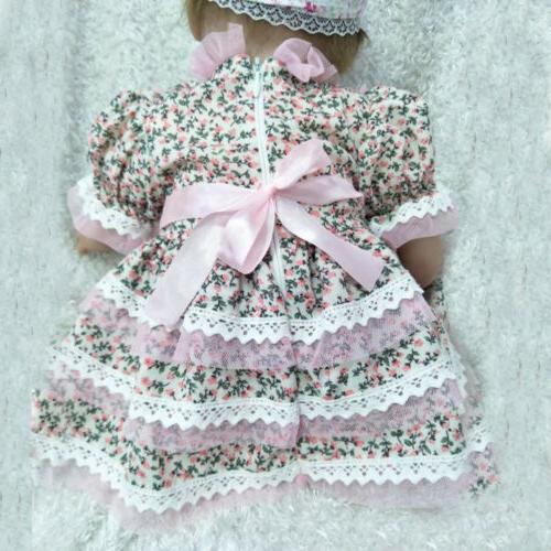 "Realistic 22"" Dolls baby Lifelike Silicone"