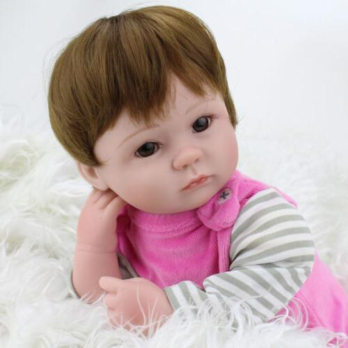 Realistic Handmade Doll Newborn Vinyl Alive