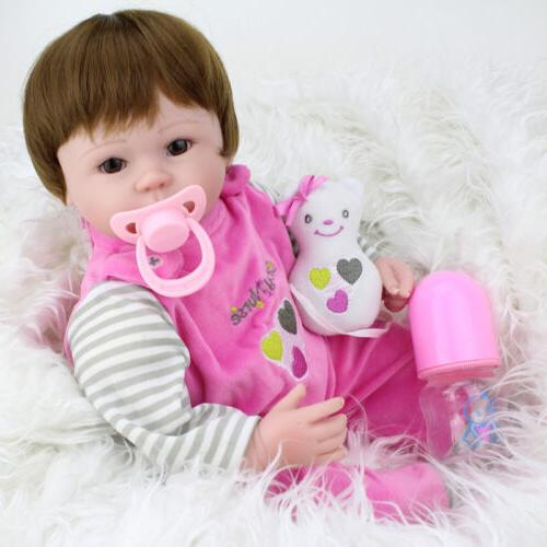 Realistic Handmade Baby Doll Newborn Vinyl Alive Reborn