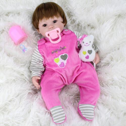 Realistic Handmade Doll Newborn Silicone Alive Dolls