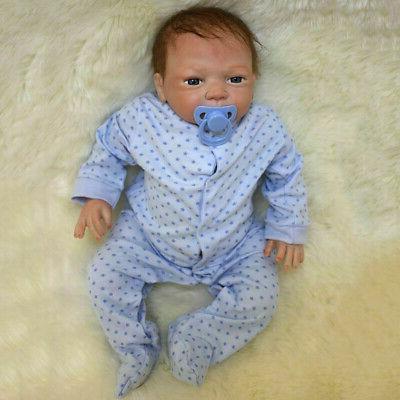 Realistic Doll Handmade Vinyl Silicone Baby Dolls Xmas
