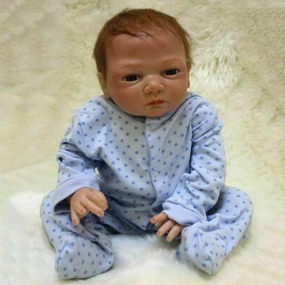 Realistic Reborn Newborn Doll Vinyl Silicone Dolls