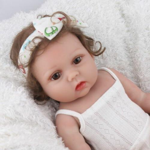 "18"" Dolls Silicone Handmade Full Body"