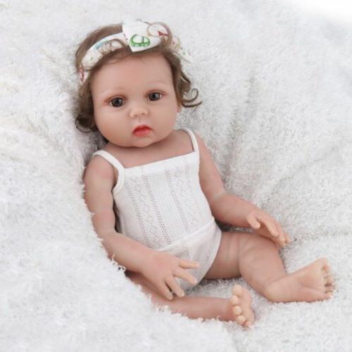 "18"" Dolls Silicone Realistic Full"