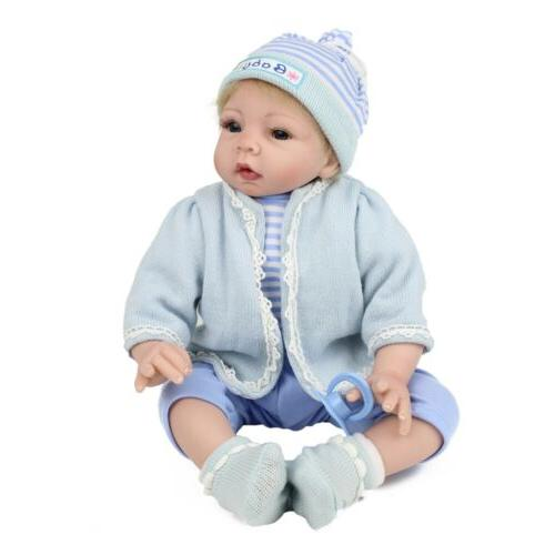 reborn doll baby 22 inch vinyl silicone