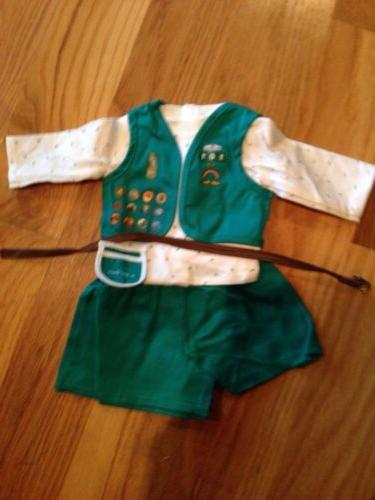 retired doll girl scout uniform new retired