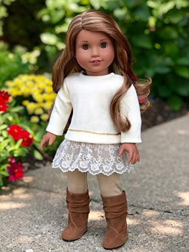 DreamWorld Collections - Melody Outfit - Leggings and Girl Doll