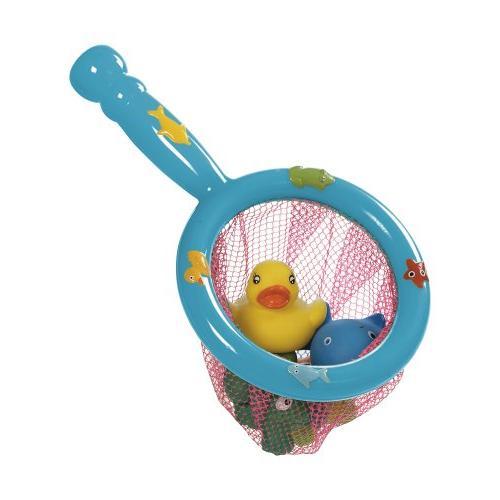 Rubber Duck, Star, Frog, Whale, Fishnet Bathtub Splash Squir