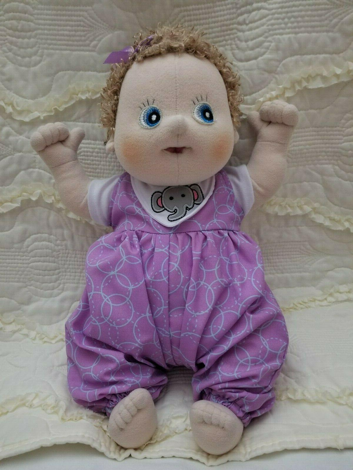 rubens barn soft sculpture baby therapy doll