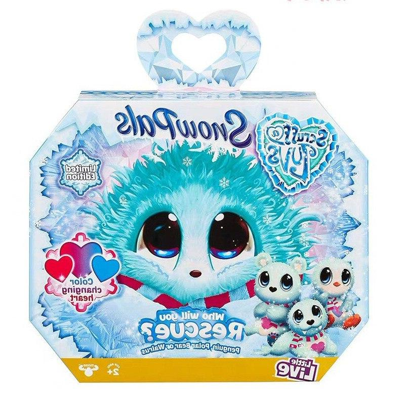 Scruff a Season 1234 Toy Dog Russian Child Gift 3colors Plush Stiche