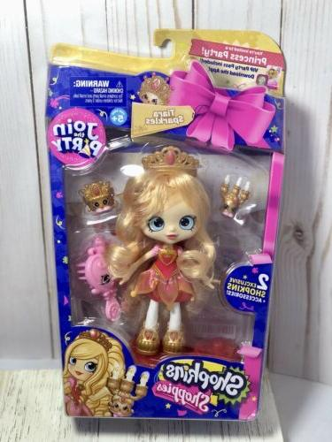 shoppies party dolls tiara sparkles princess party
