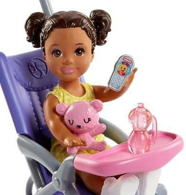 Barbie Doll and Stroller NEW