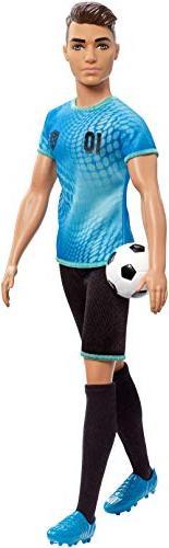 Barbie Soccer Player Doll