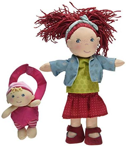 HABA Red Hair Freckles and Removable
