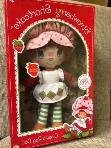 strawberry shortcake retro soft doll classic rag