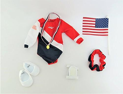 Super Gymnastic | Fits Girl Dolls as American Alexander, | Clothes |