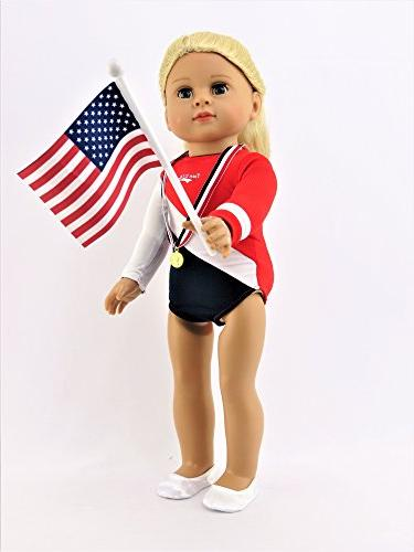 "Super Gymnastic | 18"" Girl Made as American Madame Alexander, Our Generation, 