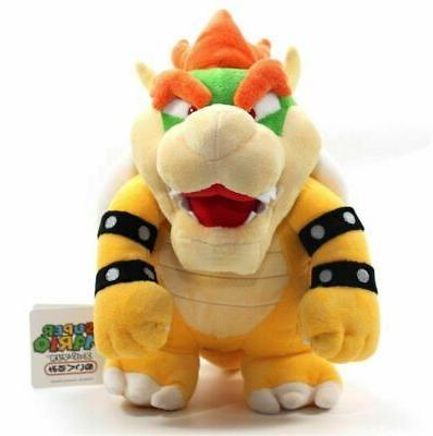 Super Mario King Bowser Plush Toy Stuffed inch