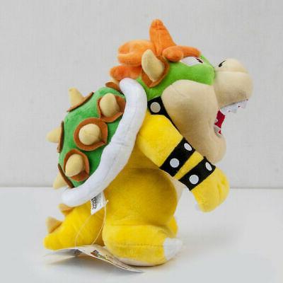 Super Mario Bowser Plush Stuffed 10 inch