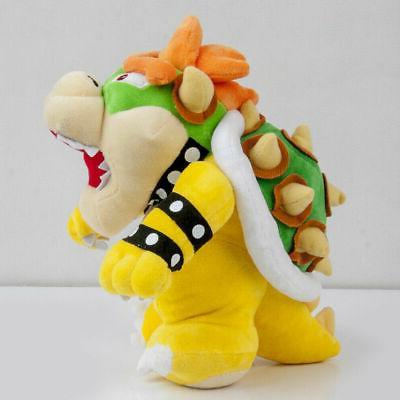 Super Bowser Koopa Toy Stuffed Doll 10 inch Gift