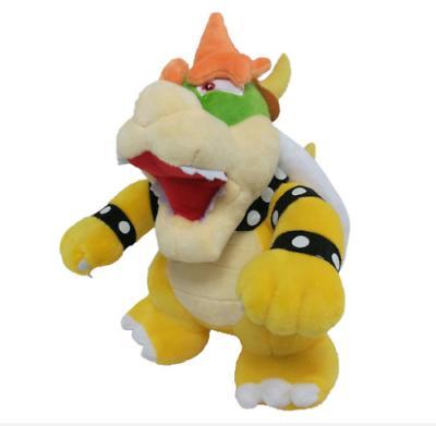 Super Bowser Toy Stuffed Animal Doll inch