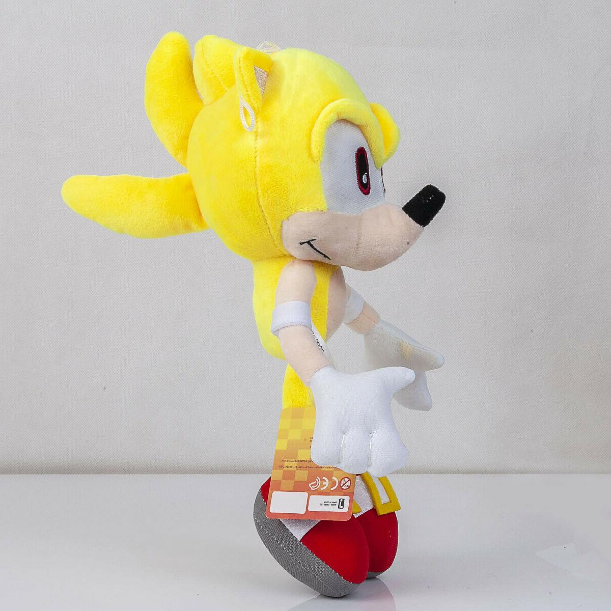 Super Sonic Plush Stuffed Plushie Toy 13 In