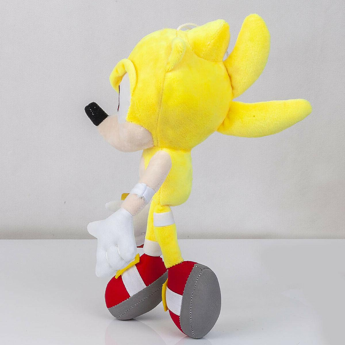 Super Sonic Stuffed Plushie Toy - In