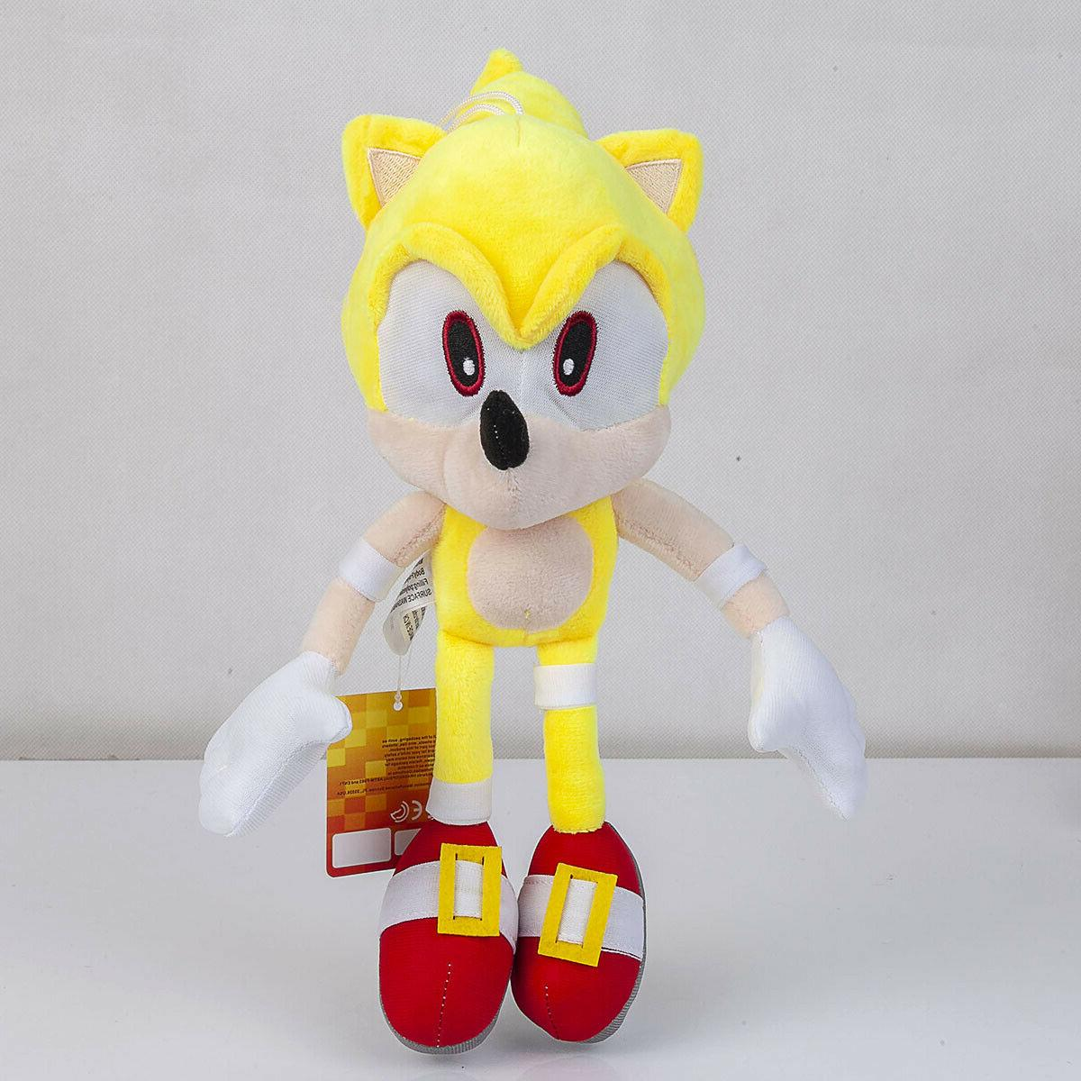 Super Sonic Doll Toy
