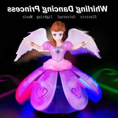 Toys for Girls Dancing Princess Doll LED Light 3 4 5 6 7+Yea