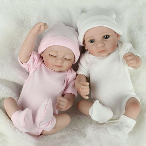 twins baby dolls lifelike newborn babies full