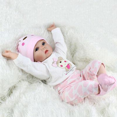 Newborn Silicone Baby Dolls Full