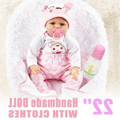 USA Newborn Silicone Baby Dolls Full