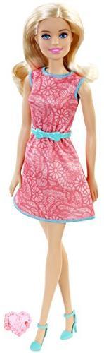 BARBIE WATERMELON COLOR DRESS