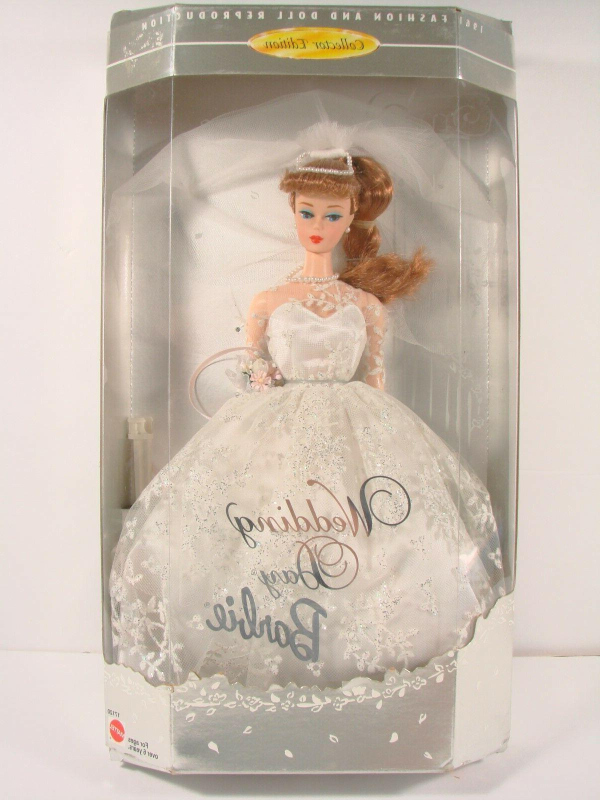 wedding day mattel 17129 collector edition 1961