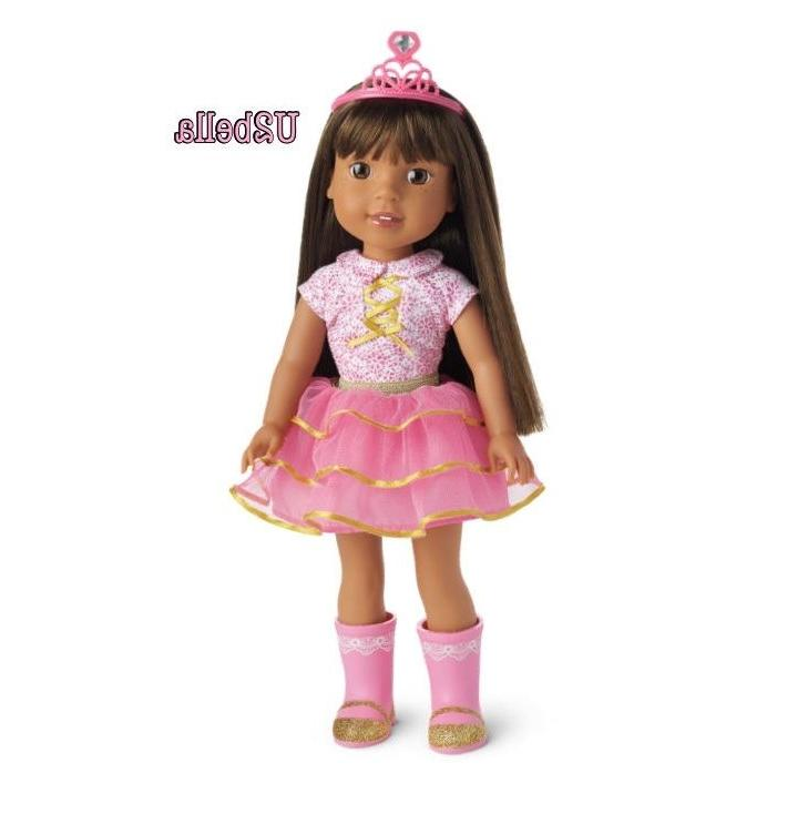 American Girl Ashlyn WELLIE WISHER NEW IN