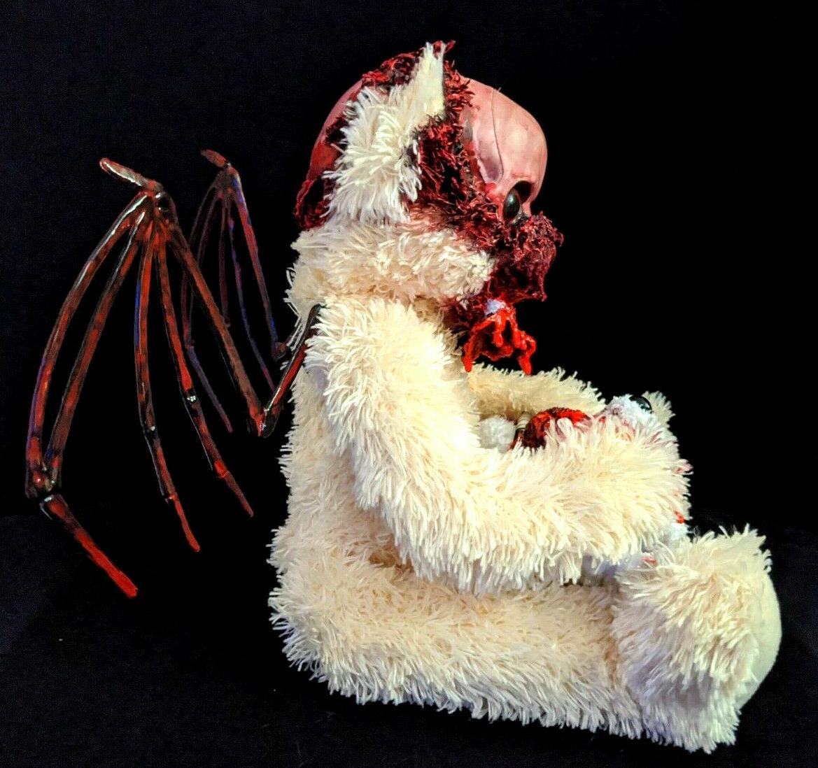 Winged Zombie Teddy Display