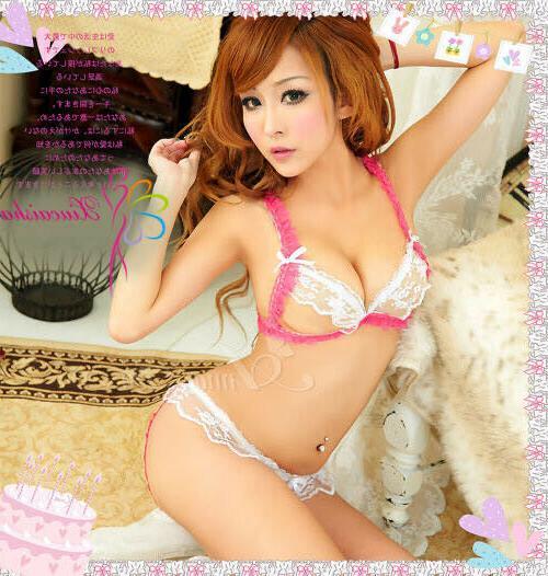 Women Sexy Lace Dolls Thong