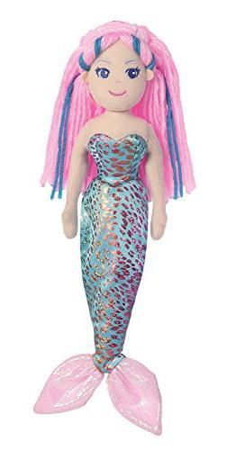 Aurora World Plush - Sea Sparkles - NIXIE the Mermaid  - Stu