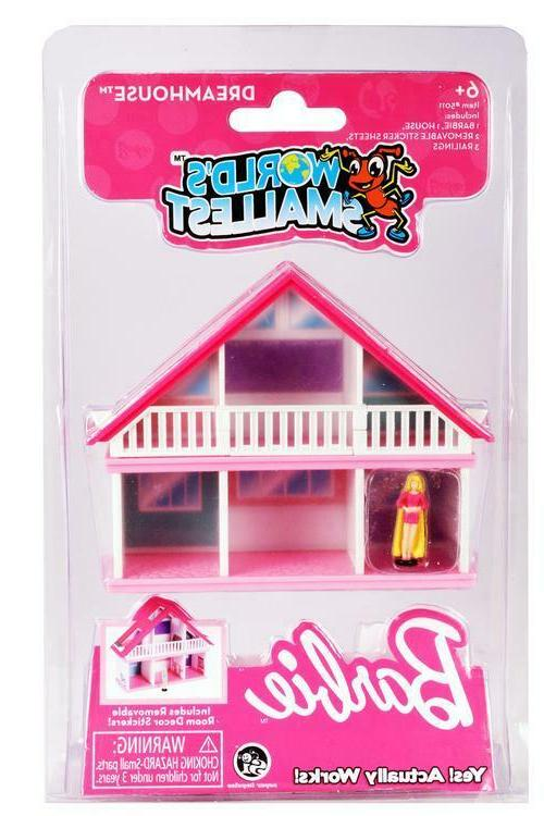 world s smallest barbie dream house doll