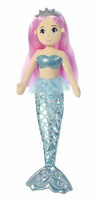 Aurora World Sea Sparkles Crystal Mermaid Plush