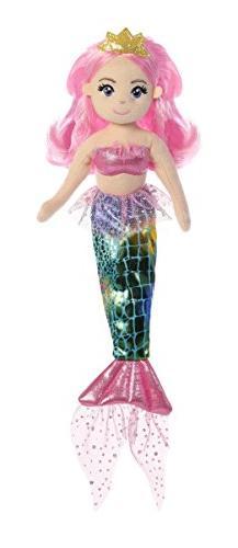Aurora World Sea Sparkles Mermaid, Rose