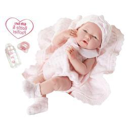 "Jc Toys La Newborn Baby Dolls For Girls 15"" Realistic With O"