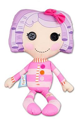 "Fiesta Lalaloopsy Pillow Featherbed 16.5"" T by 9"" W Plush Do"