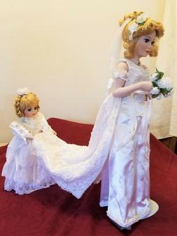 Royalton Collection LAUREN & KIMBERLY Porcelain BRIDE & BRID