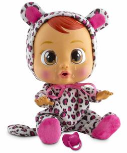 Cry Babies LEA Baby Doll - Crying doll toy cries real tears!