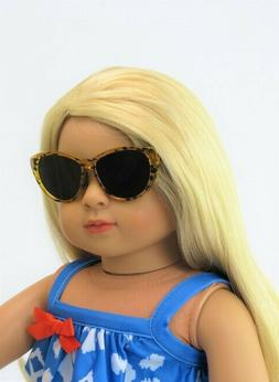 Leopard Print sunglasses for 18'' Dolls by American Fashion